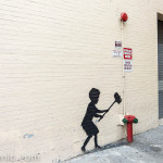 A Fall Walk with Banksy