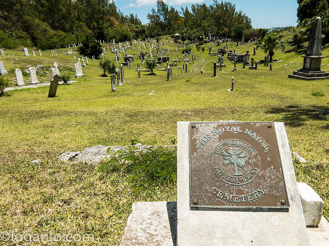 Royal Navy Cemetery in Bermuda