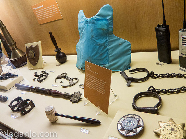 New York Historical Society - Old Police Equipment