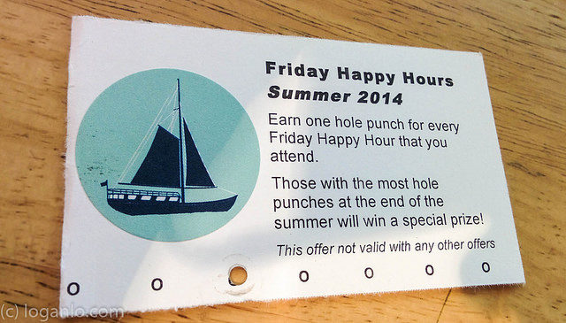 Punch Card for Parties