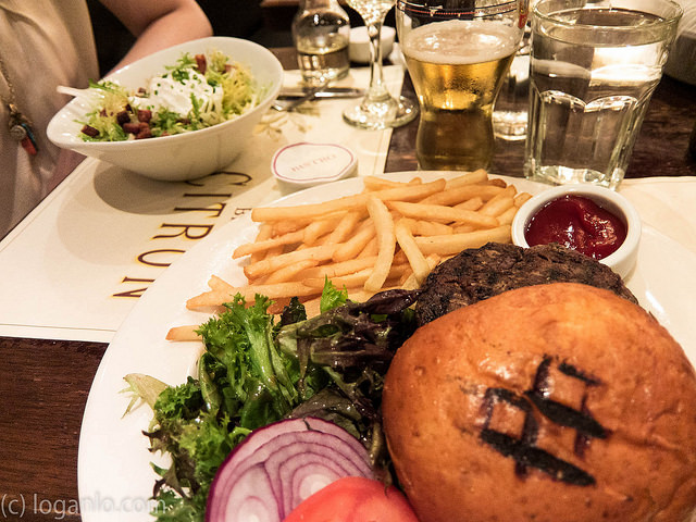 Burger at Bistro Citron in the UWS