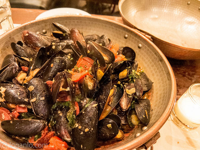 Mussels at Bistro Citron in the UWS