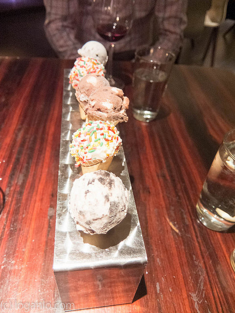 Ice Cream at STK