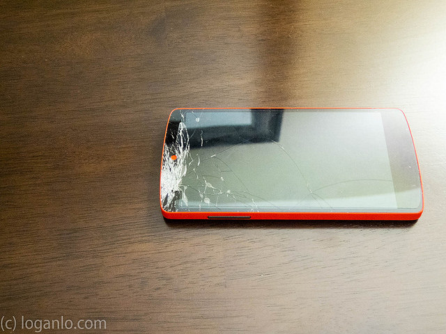 Cracked Nexus 5 Screen