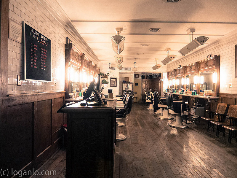Barbershop in Downtown NYC