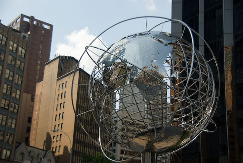 Globe at 59th Street/Columbus Circle