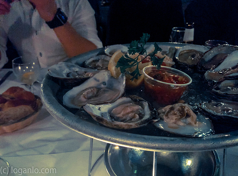 Oysters at Cafe Espanol, NYC