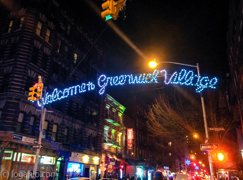 Welcome to Greenwich Village NYC 2014