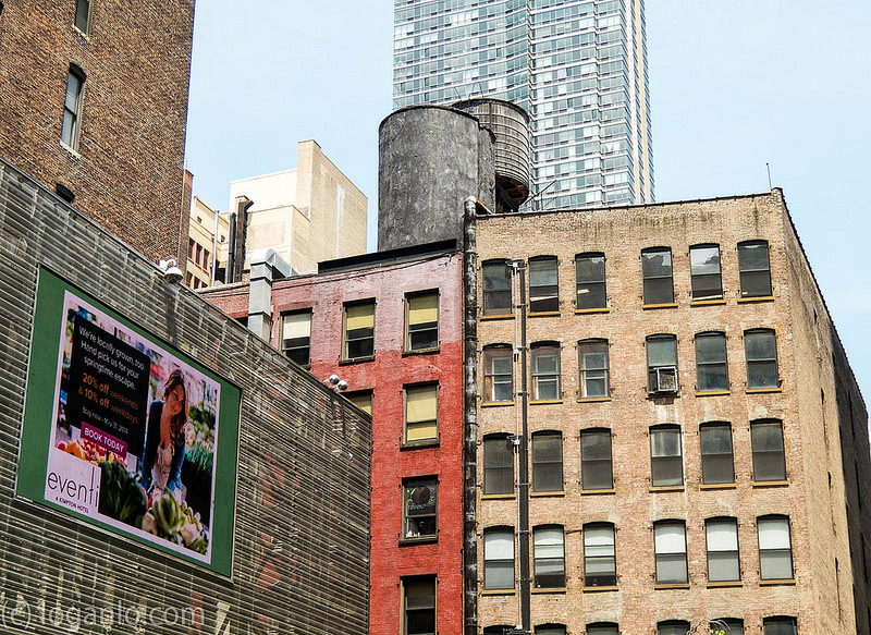 Water Towers in NYC