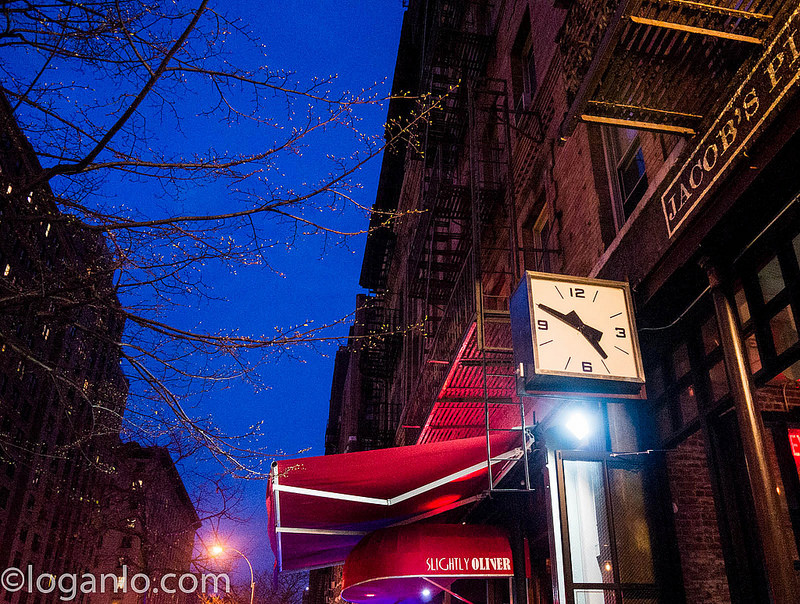 Clock in Upper West Side, NYC