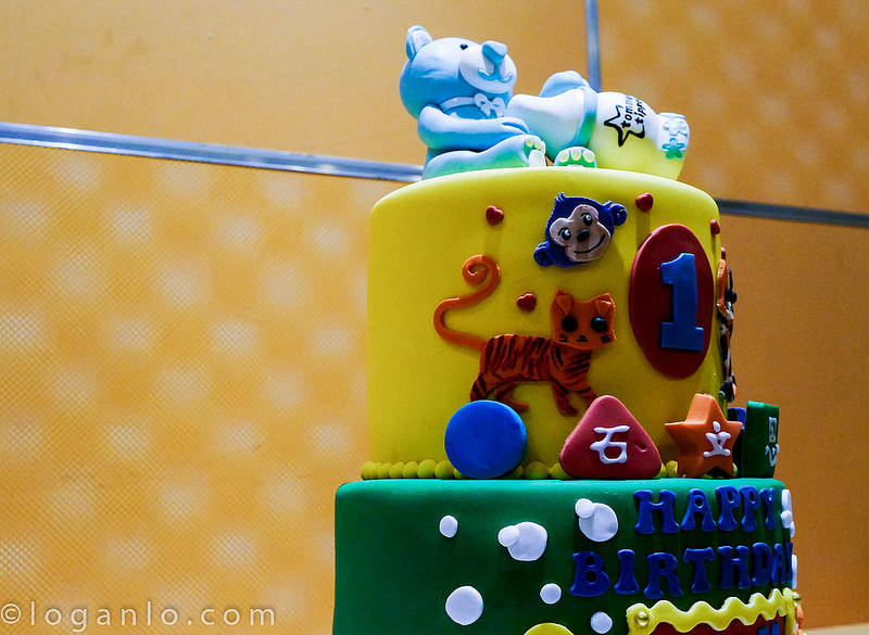 Child's Birthday Cake