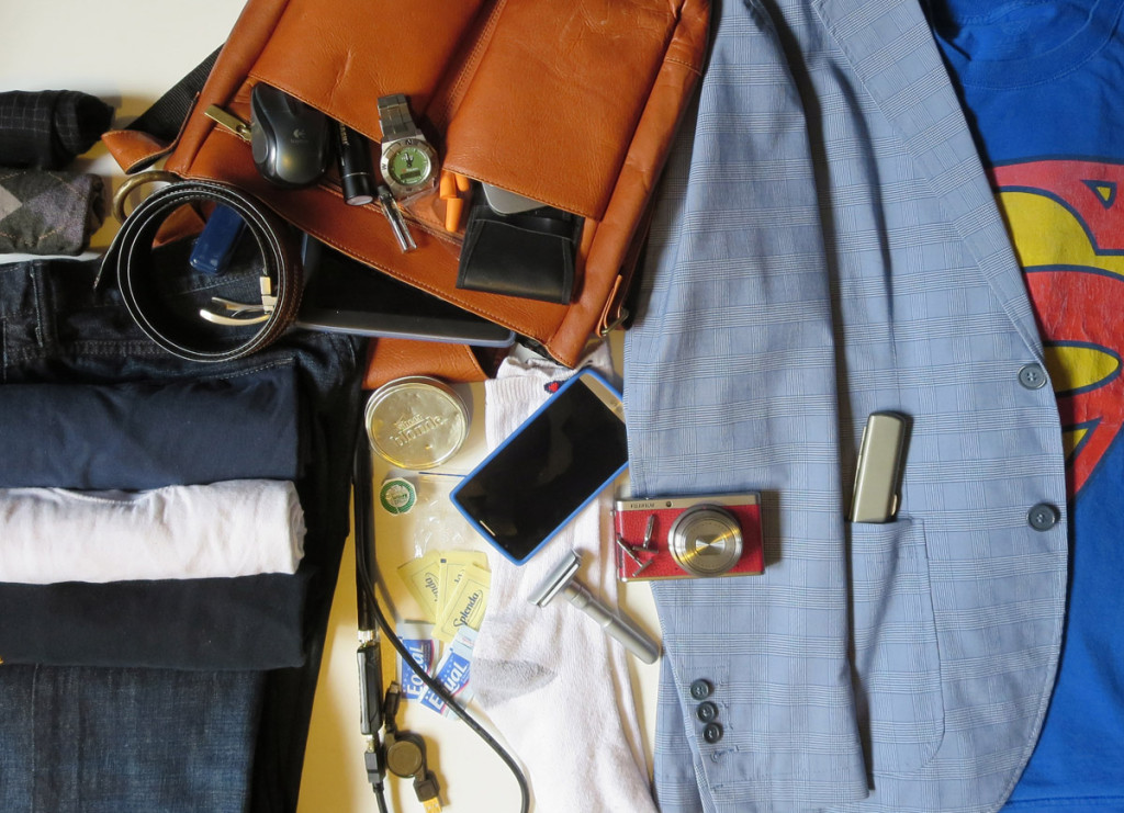 What's in my bag when I travel