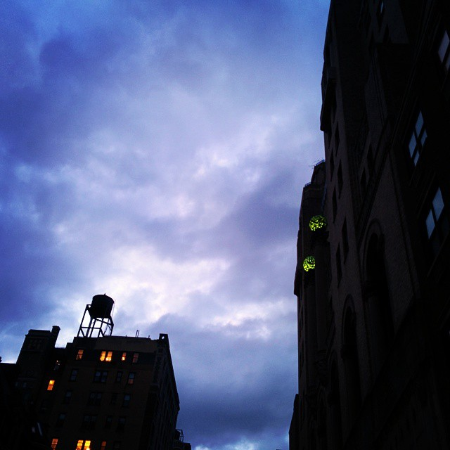 Nighttime falls in the #UWS in #NYC. The #DINKYs and #YUPPIES grow restless.