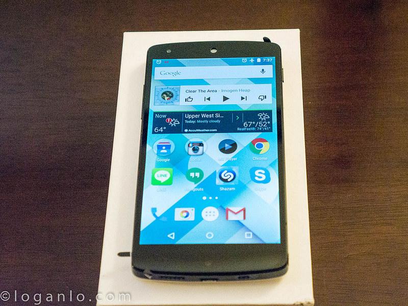 Rebuilt White Nexus 5