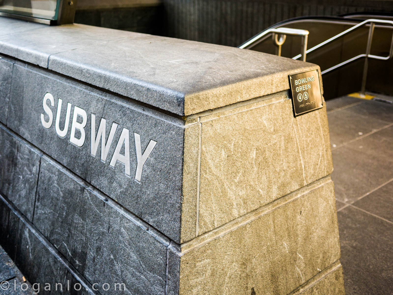 Subway Station at Bowling Green NYC