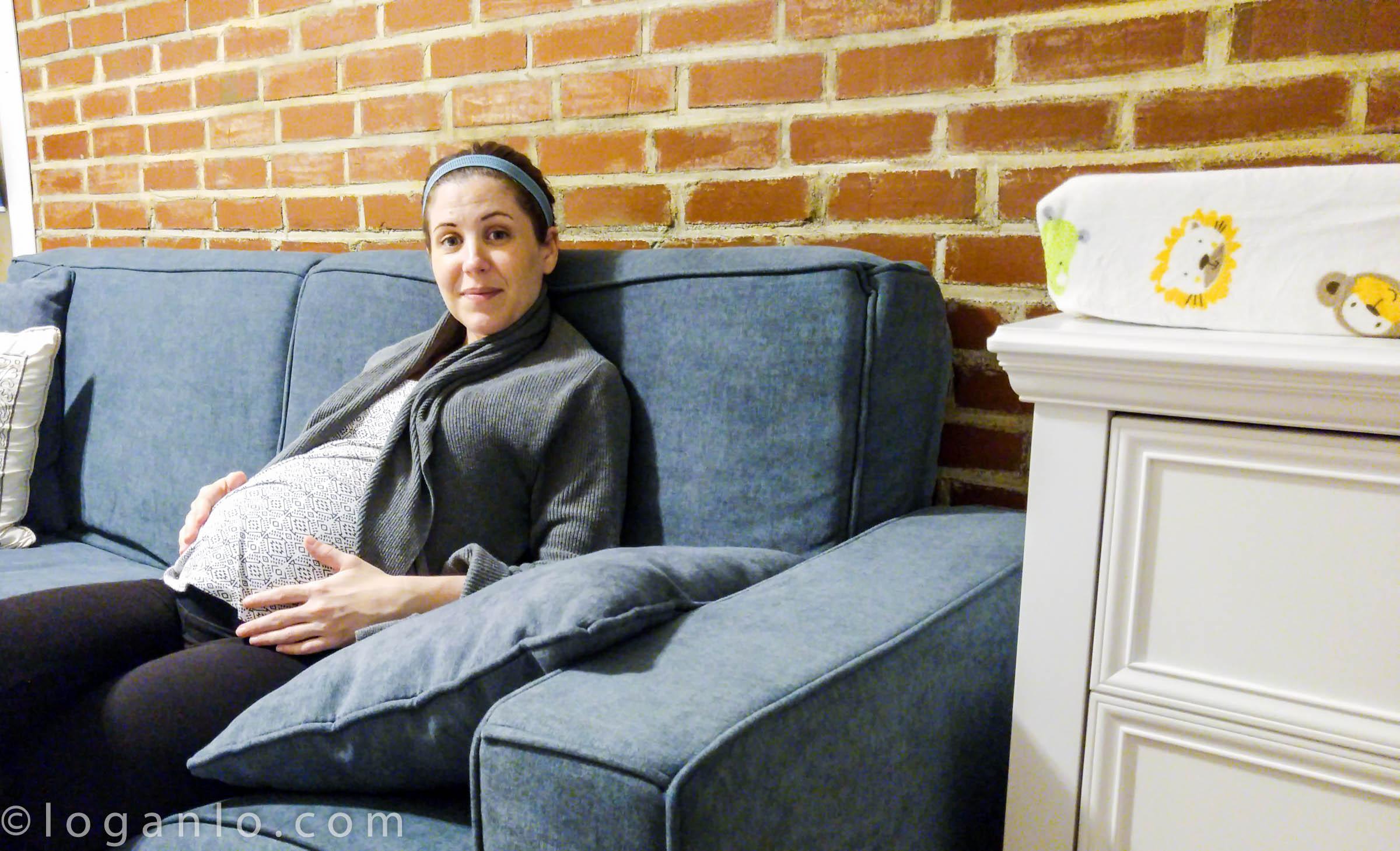 Alison pregnant