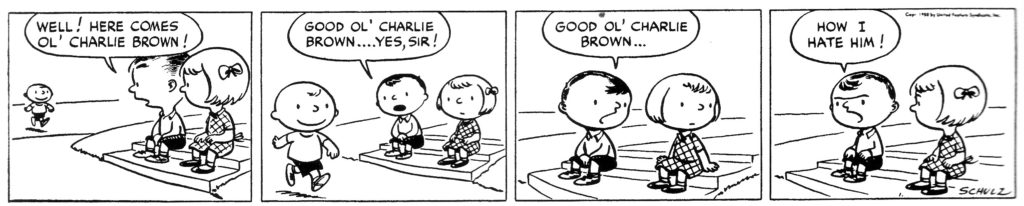 Good ole Charlie Brown.