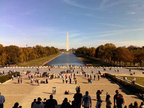 Picture of the Washington Monument.