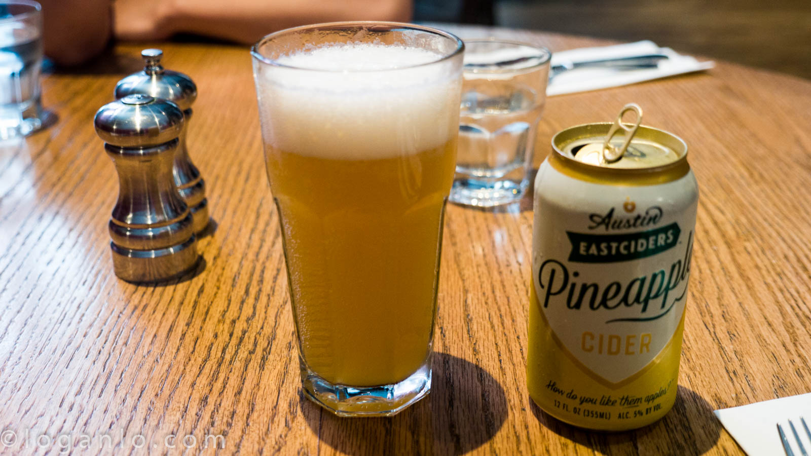 Pineapple cider