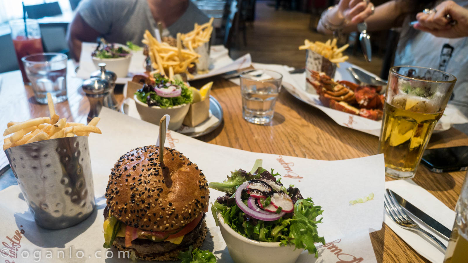 Burgers and Lobsters at Burger and Lobster