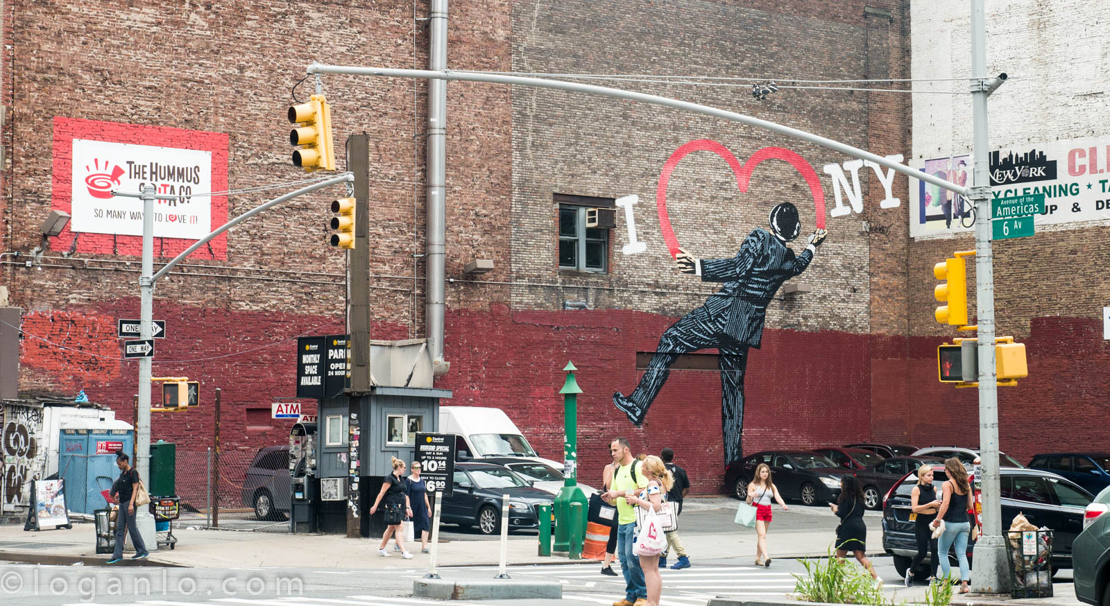Heart Graffiti in New York City
